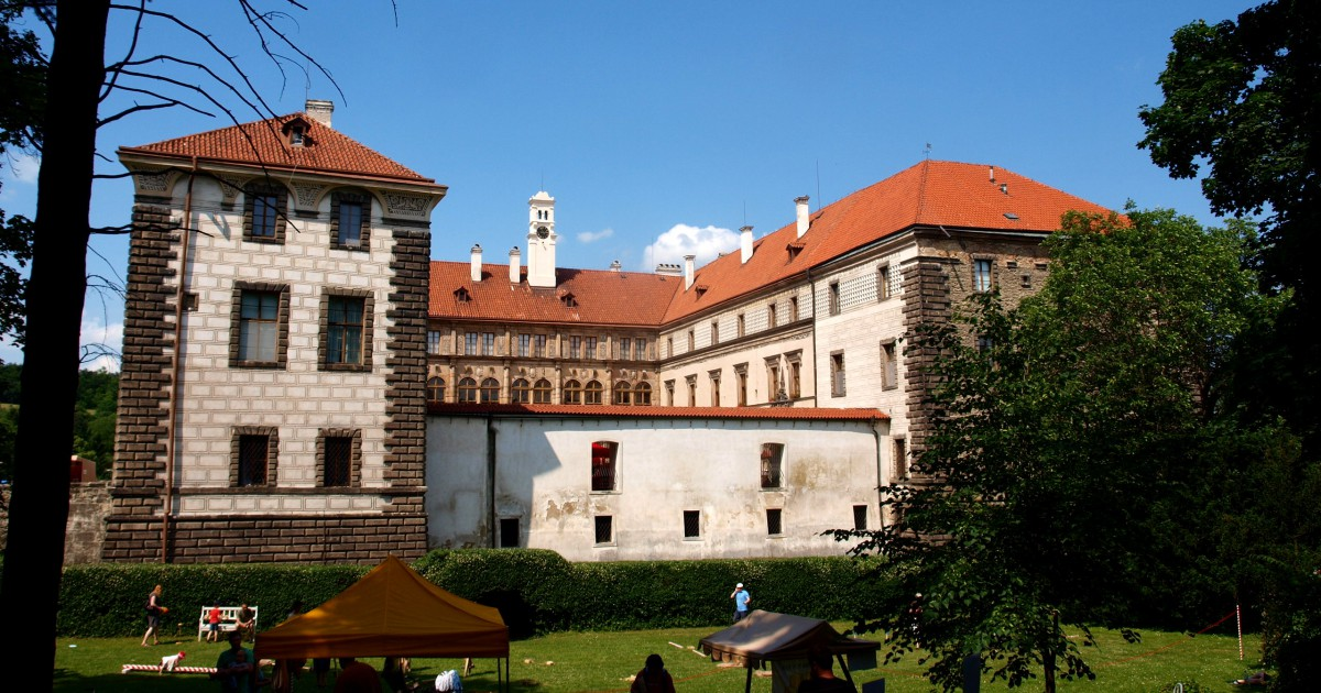 The Nelahozeves Chateau