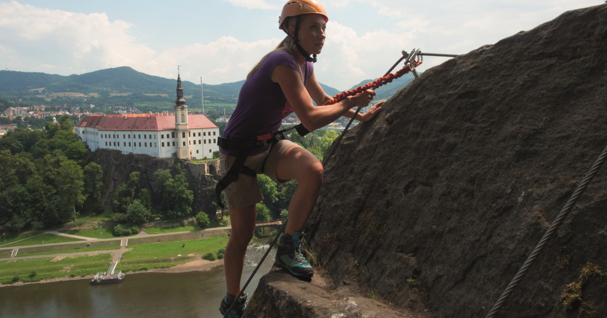 Via ferrata v Děčíně